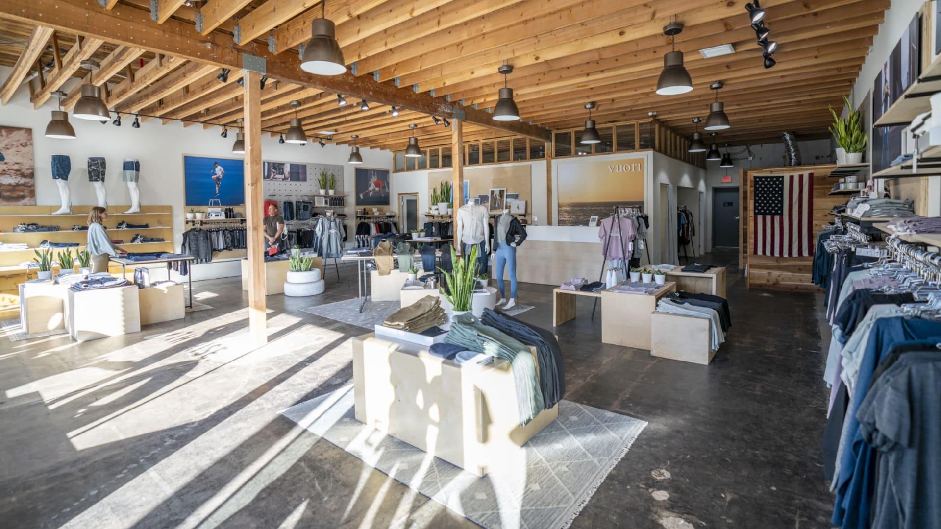 Vuori's flagship store in Encinitas, California.